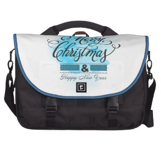 We wish you to Merry Christmas & Happy New Year Laptop Computer Bag