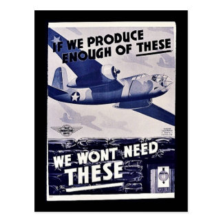 We Wont Need These Postcard