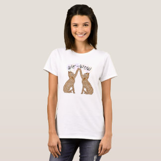 WE-WOW Cats T-Shirt