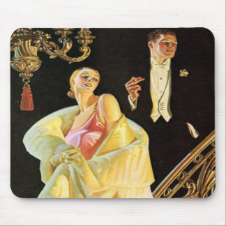 Wealthy Party Goers Mouse Pad