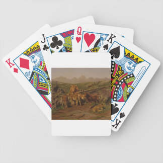 Weaning the Calves by Rosa Bonheur Poker Cards