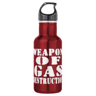 Weapon Of Gas Destruction 532 Ml Water Bottle