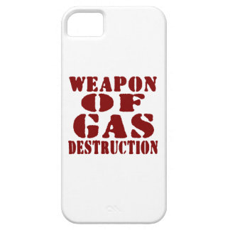Weapon Of Gas Destruction iPhone 5 Cover