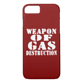 Weapon Of Gas Destruction iPhone 8/7 Case