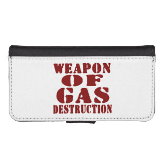 Weapon Of Gas Destruction iPhone SE/5/5s Wallet Case