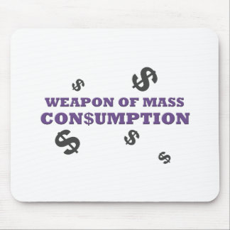 Weapon of mass consumption mouse pad