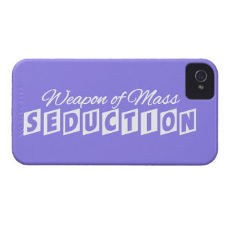 Weapon of Mass Seduction custom iPhone case
