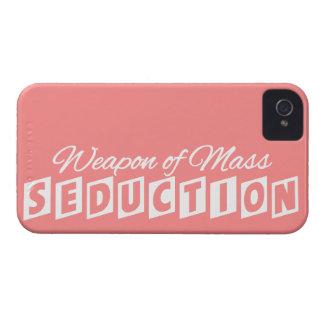Weapon of Mass Seduction custom iPhone case