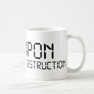 Weapon of Math Destruction Basic White Mug