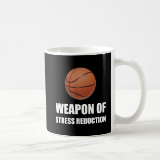Weapon of Stress Reduction Basketball Coffee Mug
