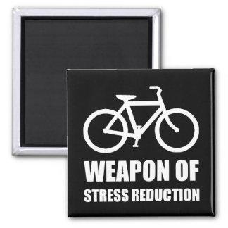 Weapon of Stress Reduction Biking Magnet