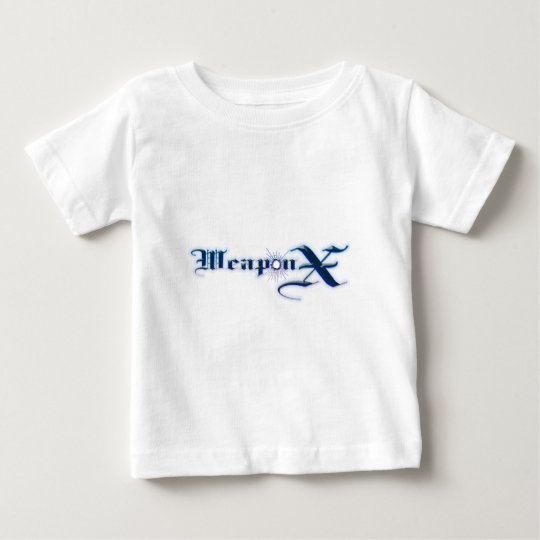 Weapon X Blue Baby T-Shirt