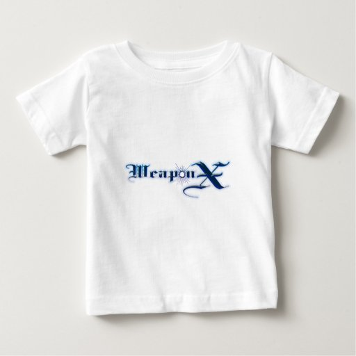 Weapon X Blue T Shirt
