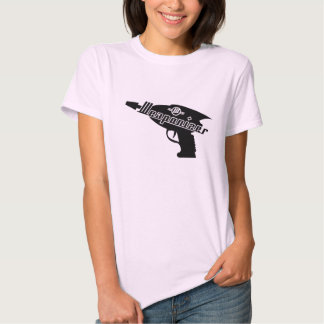 Weaponizer Raygun Blaster Angled Tee Shirt
