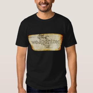 Weaponizer Steampunk Parchment Tshirt