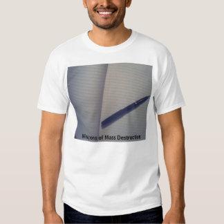 Weapons of Mass Destruction  (TRIPLE H3LIX) Tshirt