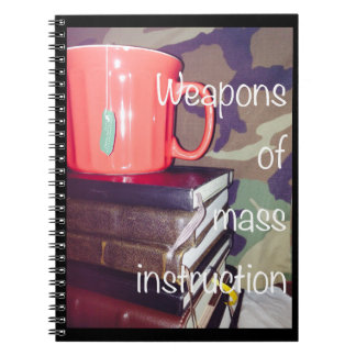 Weapons of Mass Instruction Notebook