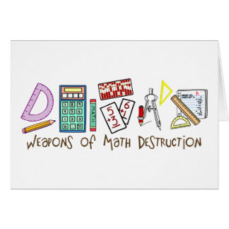 Weapons Of Math Destruction Greeting Cards