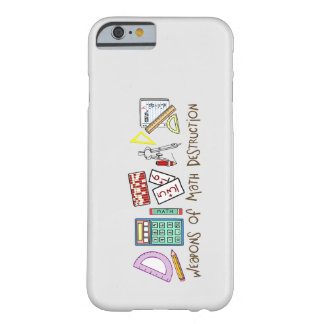 Weapons Of Math Destruction Barely There iPhone 6 Case