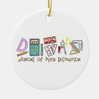 Weapons Of Math Destruction Christmas Ornament