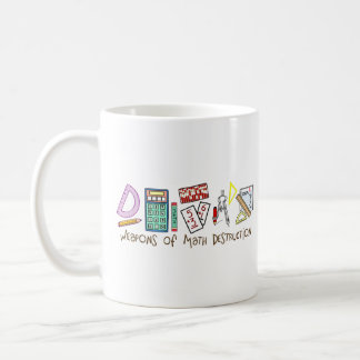 Weapons Of Math Destruction Coffee Mug