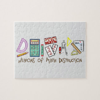 Weapons Of Math Destruction Jigsaw Puzzle