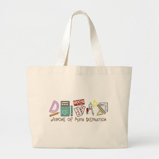 Weapons Of Math Destruction Large Tote Bag