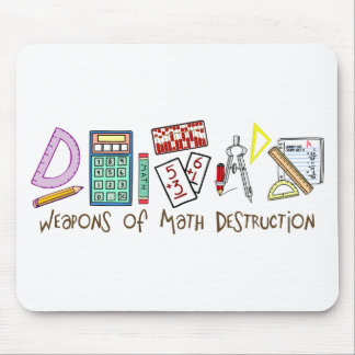 Weapons Of Math Destruction Mouse Mat