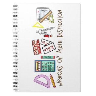 Weapons Of Math Destruction Notebooks