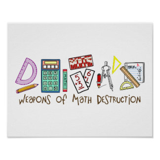 Weapons Of Math Destruction Poster