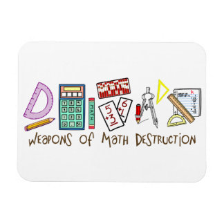 Weapons Of Math Destruction Rectangular Photo Magnet