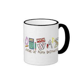 Weapons Of Math Destruction Ringer Mug