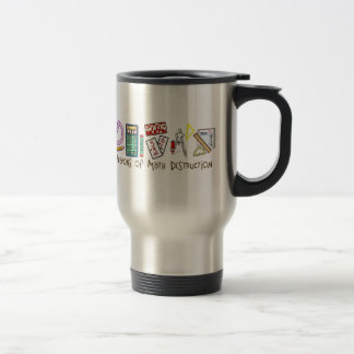Weapons Of Math Destruction Stainless Steel Travel Mug