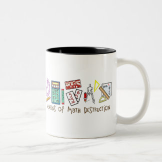 Weapons Of Math Destruction Two-Tone Mug