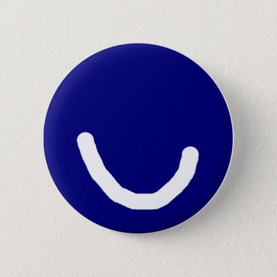Wear a smile 7 6 cm round badge