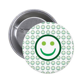 Wear a SMILE and make FRIENDS 6 Cm Round Badge