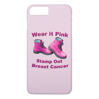 Wear It Pink Stamp Out Breast Cancer iPhone Case