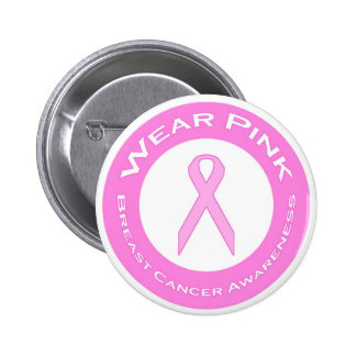 Wear Pink - Button