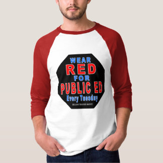 Wear Red for Public Ed T-Shirt