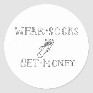 Wear Socks Stickers