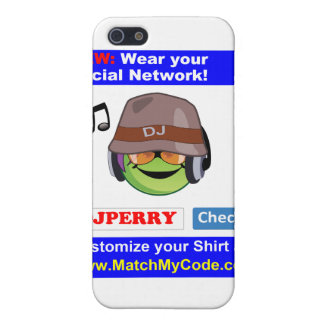Wear your Social Network! Case For iPhone 5