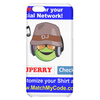 Wear your Social Network! iPhone 5C Covers