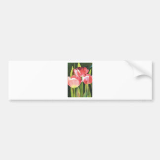 Wearable and usable fine art gifts car bumper sticker
