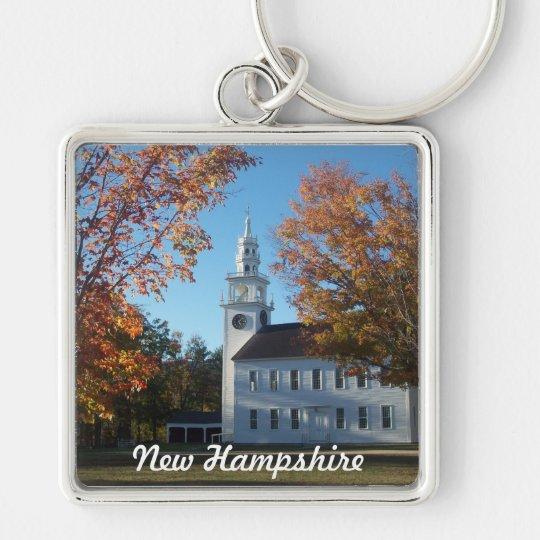 Wearin' New Hampshire Key Ring