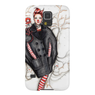 Wearing Jean Paul Gaultier Fashion illustration Cases For Galaxy S5