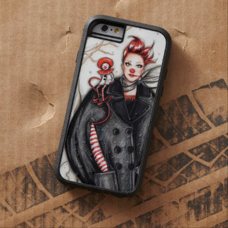 Wearing Jean Paul Gaultier Fashion illustration Tough Xtreme iPhone 6 Case