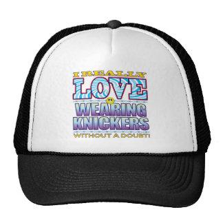 Wearing Knickers Love Face Cap