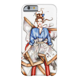 Wearing Viktor and Rolf,Fashion illustration Barely There iPhone 6 Case