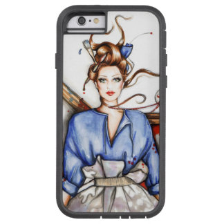 Wearing Viktor and Rolf,Fashion illustration Tough Xtreme iPhone 6 Case