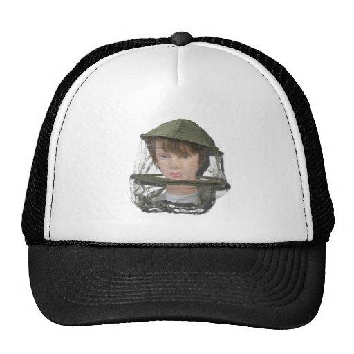 WearingBeeKeeperHat100712 copy.png Trucker Hats